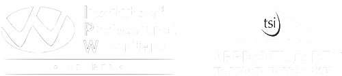 Institute of professional Willwriters and trading standards logo. white transparent for RFG Will writing ltd